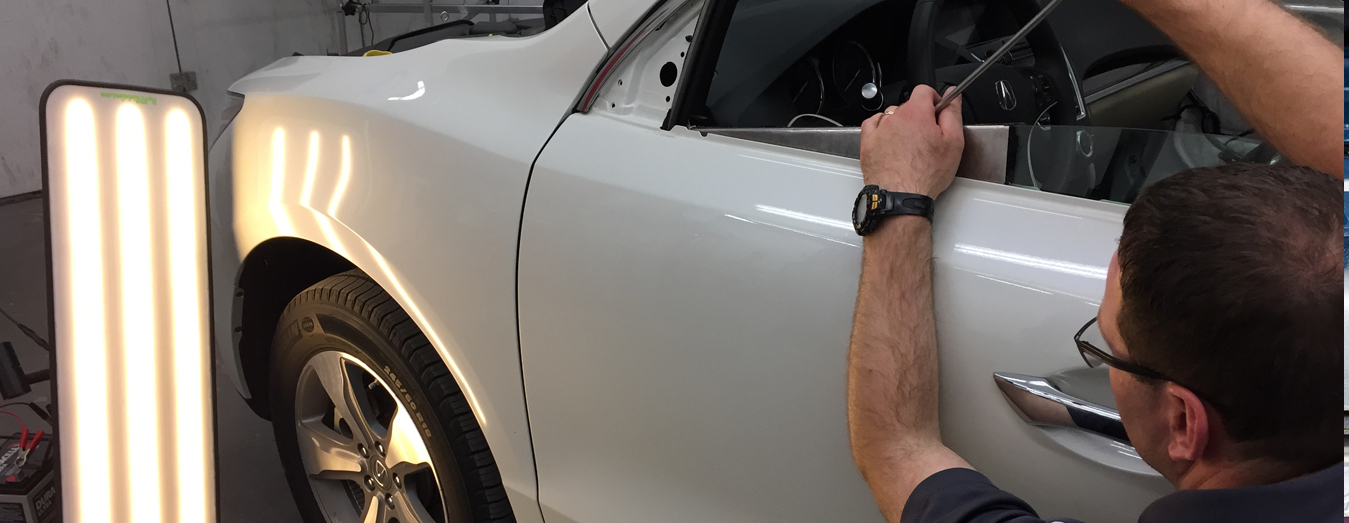 Car Denting And Painting Procedure